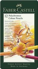 Faber-Castell 12 Polychromos Artists Color Pencils 110012T