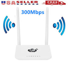4G Wireless Wifi Router LTE 300Mbps Mobile MiFi Portable Hotspot w/SIM Card X9N3