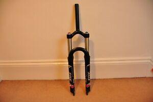 "26"" Fox Vanilla R Coil Forks 130mm Travel Black QR Dropouts superb condition"