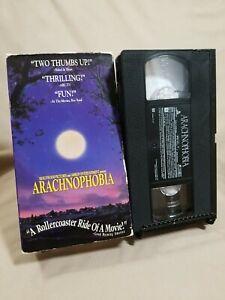 Arachnophobia VHS VCR Video Tape Movie Jeff Daniels John Goodman Used