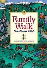 NEW The Family Walk Devotional Bible NIV Zondervan Walk Thru the Bible Ministry