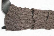 New Women Ladies Winter Leg Warmers Knitted Heavy Warm Solid Leg Warmers/Wraps