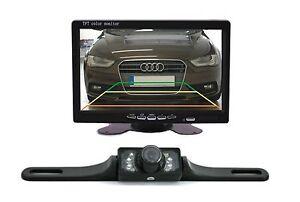"Construction Rear View Camera CM322 Nightvision LED & 7 "" Monitor Fits Honda"