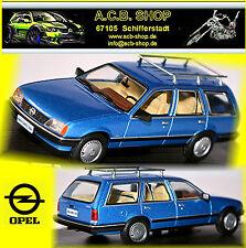 Opel Rekord E2 Caravan 1982-86 blau blue metallic 1:43 Ixo