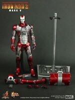 1/6 HOT TOYS Iron Man 2 Ironman MARK V MK 5 Limited In stock