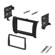 2007 2008 2009 2010 2011 toyota sequoia tundra dash kit double din wire  harness