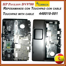HP Pavillion DV9700 Original Reposamanos con Touchpad con cable 448010-001
