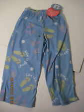 Life is Good Toddler XXS 2T/3T lounge Sleep Pants Flip Flop  25.00 NWT 2029