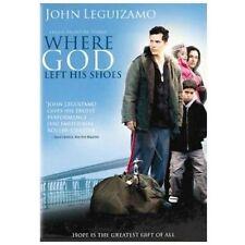 Where God Left His Shoes (DVD) SHIPS NEXT DAY John Leguizamo, Charles Dumas