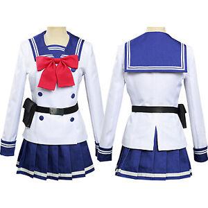Sky Violation Cos suit Honjo Yuri Women's Cosplay Anime Uniform Suit Game New