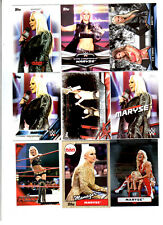 Maryse Wrestling Lot of 9 Different Trading Cards 2 Inserts WWE TNA M-B1
