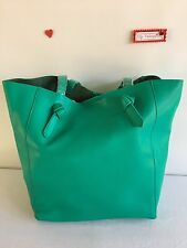 KC Jagger Women's Dakota Knotted Shopper Tote Bag Purse Kelly Green
