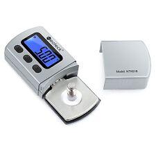 Neoteck Digital Turntable Stylus Force Scale Gauge 0.01g Blue LCD Backlight f...