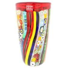 GlassOfVenice Murano Glass Primavera Millefiori Vase