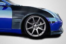 03-07 Fits Infiniti G Coupe 2DR GT Concept Carbon Fiber Body Kit- Fenders 115449