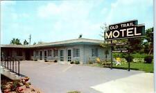 COLUMBUS, OH Ohio    OLD TRAIL MOTEL  HWY 40    c1950s    Roadside     Postcard