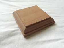 Solid Mahogany Newel Cap, Fence Post, Stair Parts