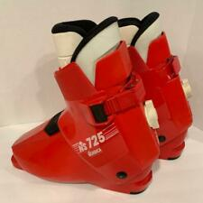 New listing Nordica Ns 725 Downhill Ski Boots Red Size 294 Mm