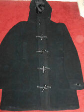 Zara Men Duffle Coat 70% Wool Mint Condition Excellent !! Size Eur42 (XL)  #30