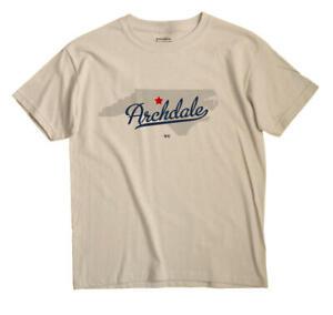Archdale North Carolina NC T-Shirt MAP
