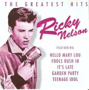 Ricky Nelson - Greatest Hits (CD 1997) 22 Tracks