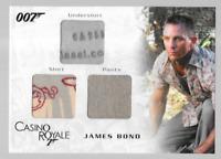 James Bond In Motion Costume Wardrobe Prop Relic Card TC05 Diesel Label Variant
