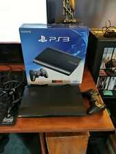 Sony PlayStation 3 500 GB Super Slim System PS3 BARELY USED