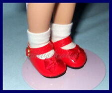 """RED Patent Mary Jane SHOES fit 11"""" LISSY 12""""Marley Wentworth 9"""" Modern PATSYETTE"""