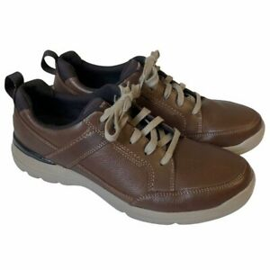 Rockport City Edge Lace Up Leather Casual Shoe Sneakers XCS Men's 8