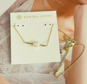 Kendra Scott  Ivory Pearl golden Necklace