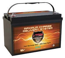 VMAX SLR125 12V 125AH AGM Deep Cycle Group 31 Sealed Lead Acid AGM Solar Battery