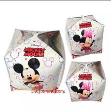 Minnie Mickey Mouse Disney balloons party birthday Cube Orbs
