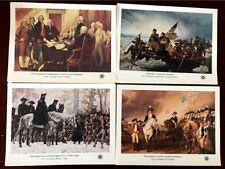 US #1686-1689 AMERICAN BICENTENNIAL Full 4 S/S