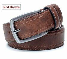 Hombre Cinturón de Lujo Marca Cuero para Diseñador Con Estilo Vintage