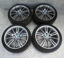 "*BMW 3 Series E90 E91 Complete Set 4x Wheel with Tyres 18"" M Spider Spoke 193"