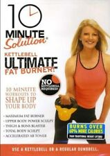 10 MINUTE SOLUTION KETTLEBELL ULTIMATE FAT BURNER DVD NEW MICHELE OLSON FITNESS