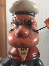 """14.5"""" Composition Popeye The Sailor Man! King Feature Syndicate"""