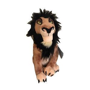Disney Store Scar Plush The Lion King Medium 14'' Stuffed Animal New with Tags