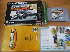 F1 World Grand Prix F-1 - Nintendo 64 - N64 - PAL ESP - completo