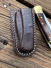 Handmade Leather Sheath Fits Buck 110 (sheath Only No Knife) Dark Brown