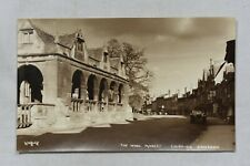 More details for postcard wool market chipping campden gloucestershire unposted real photo rp