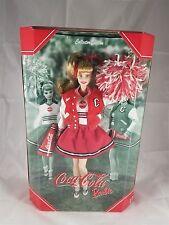 Mattel 2000 Collector Edition Coca-Cola Cheerleader Barbie 28376 NRFB