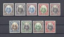 MALAYA/KEDAH 1937 SG 60/8 Mint Cat £300