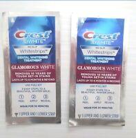 Crest 3D Glamorous White Whitestrips - 4 strips (2 treatments) - Exp. 4/2022