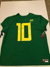 New Mens 3XL (Size 56) Nike Oregon Ducks jersey 2018 Stitched Elite Apple Green