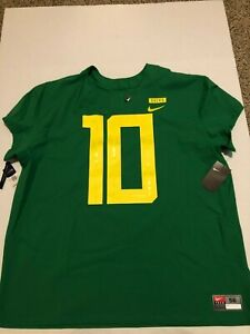 New Mens 3XL (Size 56) Nike Oregon Ducks jersey 2018 Stitched Elite Apple Green