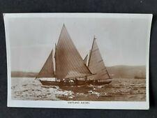 More details for vintage shetland postcard rp shetland racers.
