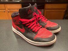 Nike Air Jordan 1 Alpha Black/ Red-White Size 12 1/2
