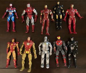 Marvel Legends Loose Figure Iron Man Lot (10 Figures)
