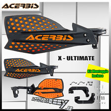 PARAMANI ACERBIS  X-ULTIMATE CROSS ENDURO MOTARD NERO ARANCIO + KIT MONTAGGIO
